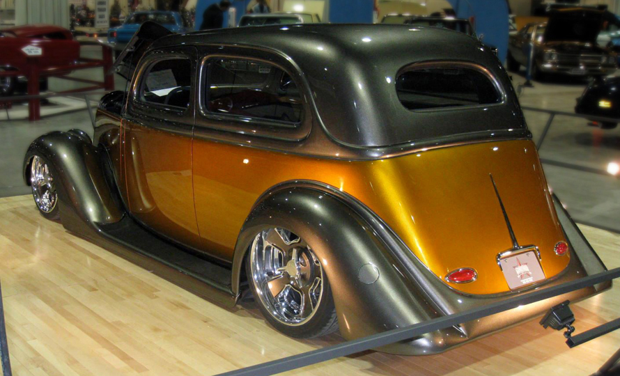 Custom Designed 1935 Ford Sedan
