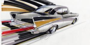 '57 Fast Fins