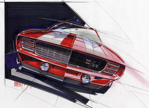 Hot Rod Art For Sale Muscle Cars