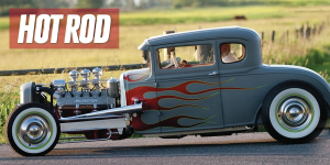 Hot Rod Magazine featured Model A by Stretch Stredwick